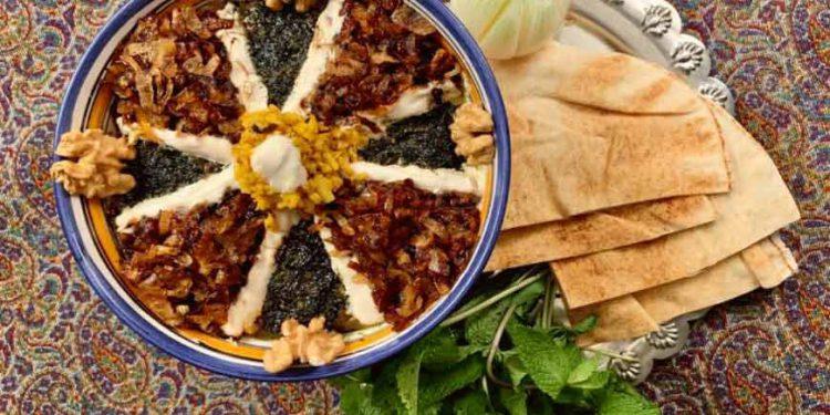 پیش غذای سنتی ایرانی