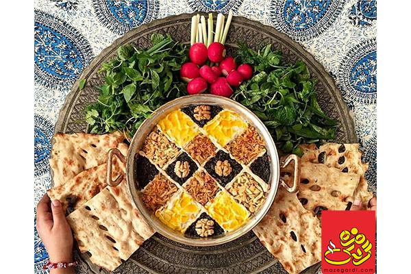پیش غذای سنتی محبوب ایرانی