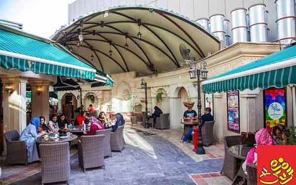 مجللترین کافه شمال تهران