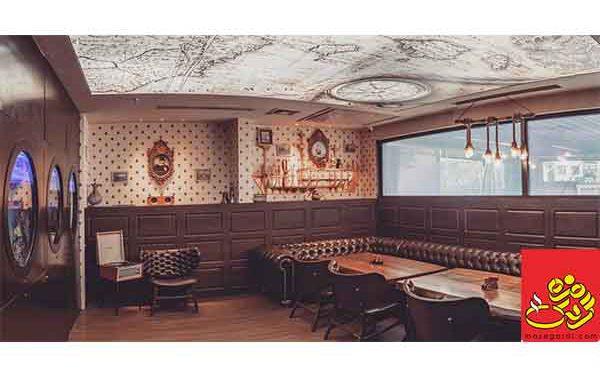 رستوران با اتاق vip