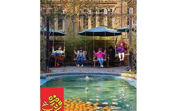 بهترین کافه روباز در تهران