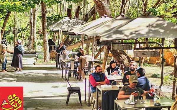 کافه های روباز در تهران