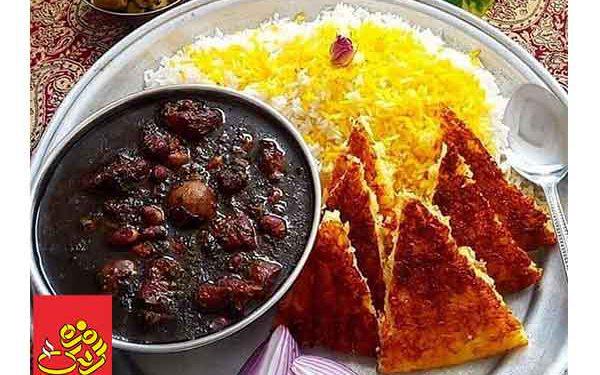طرز تهیه قورمه سبزی مجلسی رستورانی