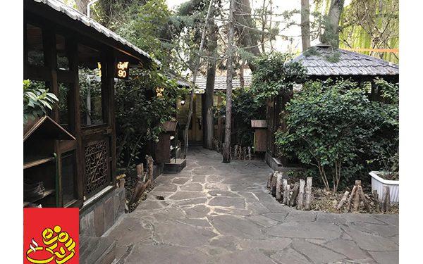 بهترین باغ رستوران فرحزاد