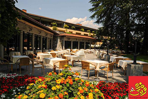 رستوران با چشمانداز تهران