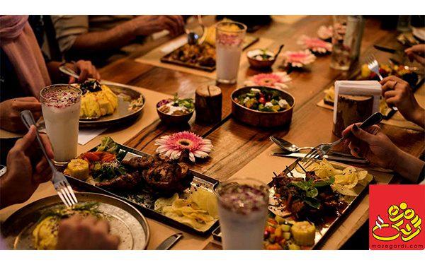بهترین رستوران های صادقیه تهران