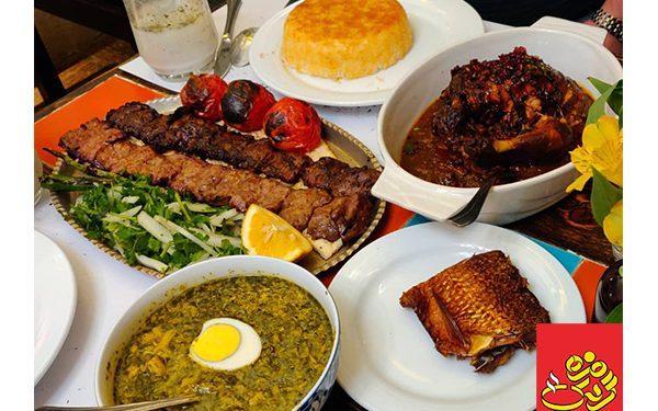 بهترین رستوران جردن تهران